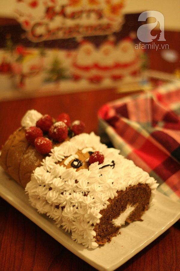 Làm bánh Ông Gìa Noel cho bé yêu.